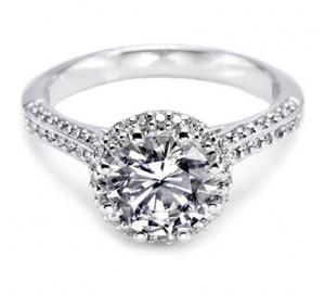 Tacori Round Diamond Ring