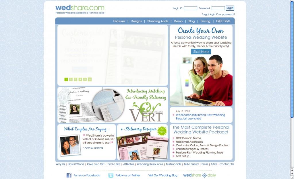 wedshare page