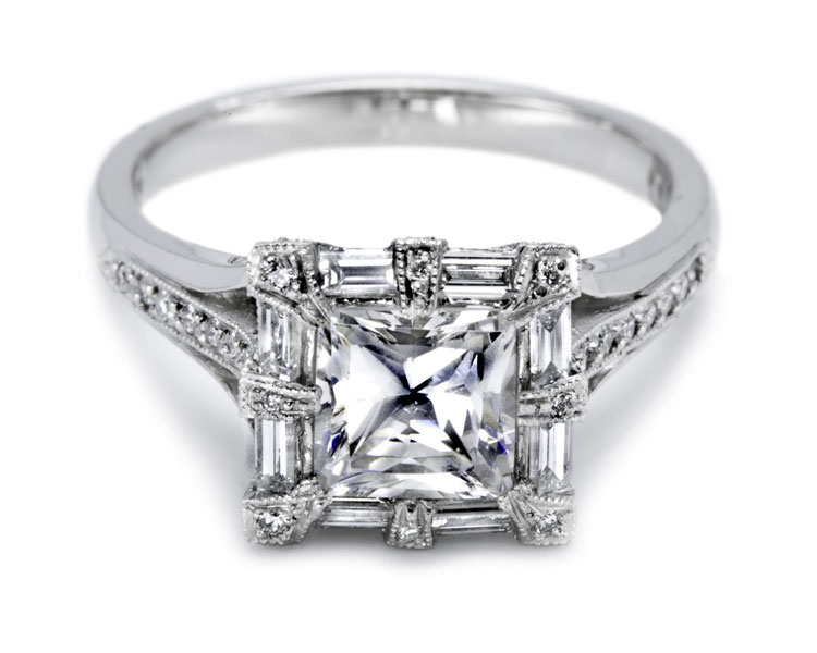 Tacori solitaire engagement rings for