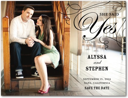 Save The Dates by Wedding Paper Divas – Save the Dates Wedding Paper Divas