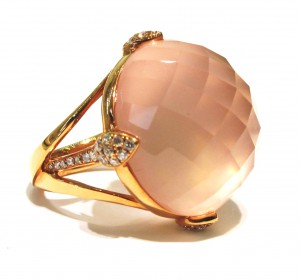 Alan Diamonds Peach Ring