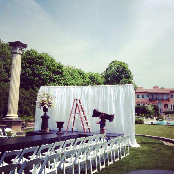 Cuneo Mansion & Gardens, Vernon Hills, IL. Fashion Show
