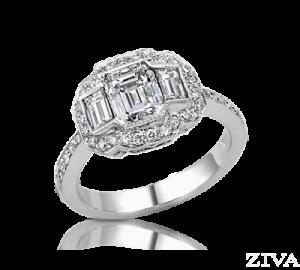 Ziva Emerald Ring
