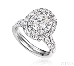 Ziva Oval Ring