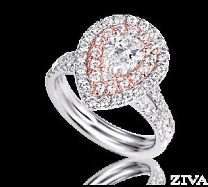 Ziva Rose Gold Ring