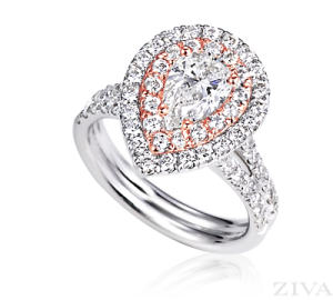 Ziva Rose Gold Ring