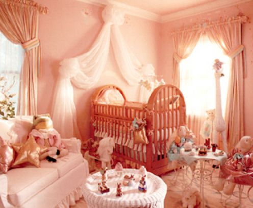 elaborate nurseries for new baby