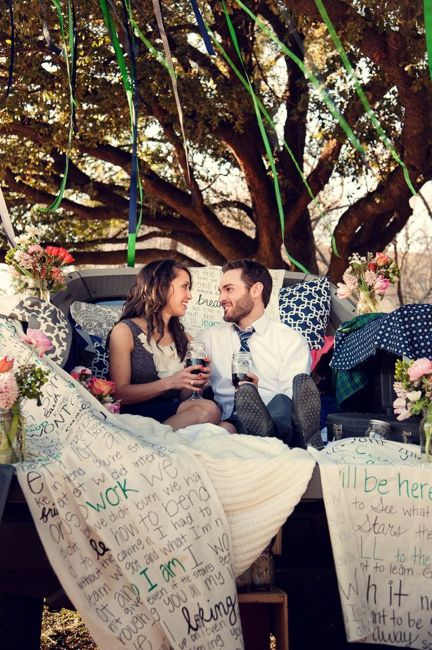 I Won't Give Up Lyrics in a marriage proposal frame banner flowers romantic