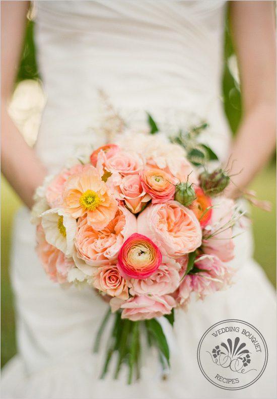 peonies, roses ranculuas bouquet
