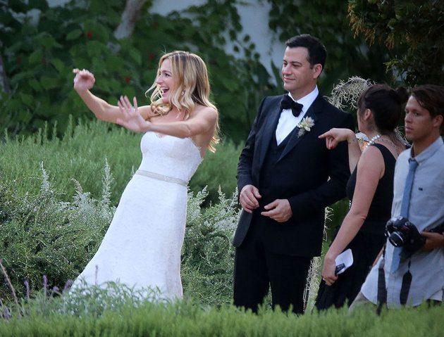 Jimmy Kimmel gets married