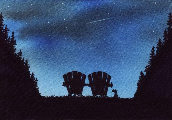 stargazing date night