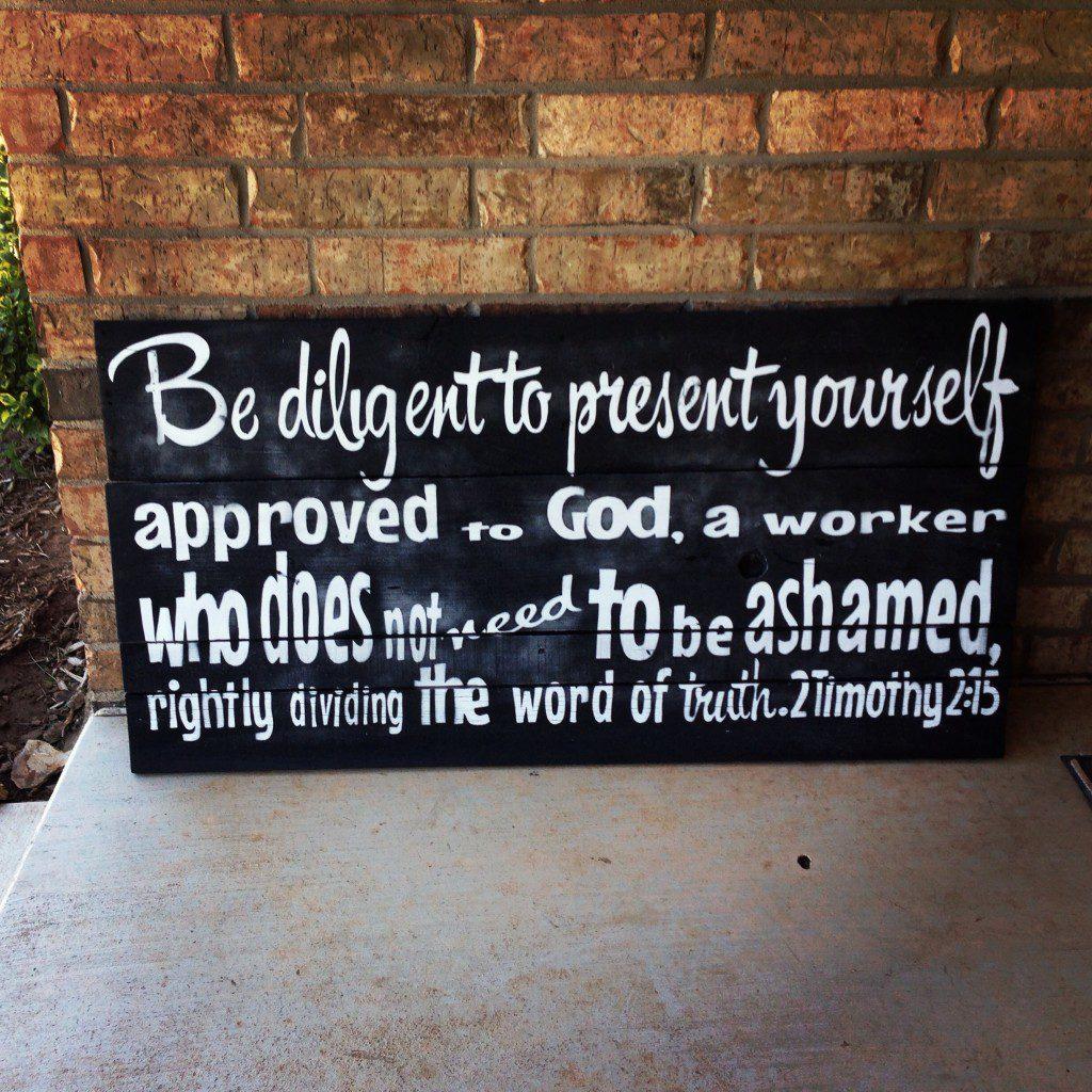 wooden bible scripture wall art signs