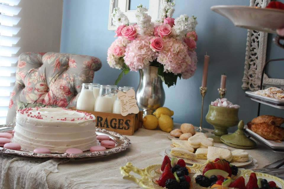 Vintage Chic Baby Shower The Yes Girls