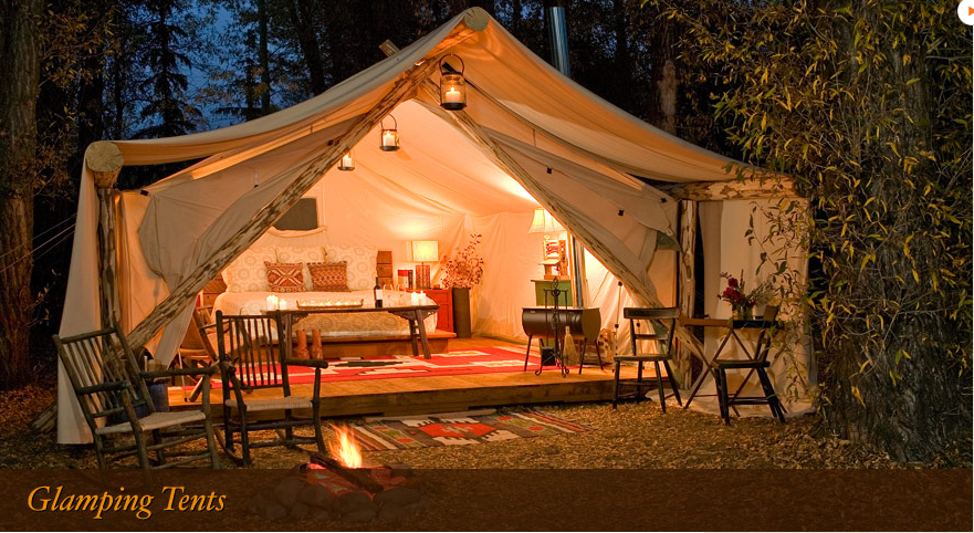 Romantic Glamping | The Yes Girls