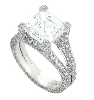 Harry Kotlar Asscher Ring