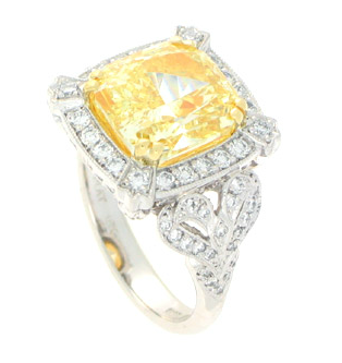 Harry Kotlar Canary Radiant Ring