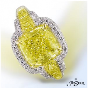 JB Star Yellow Diamond Ring