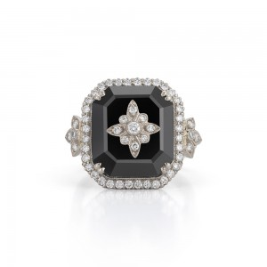 Kwiat Onyx Vintage Ring