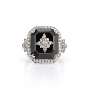 Kwiat Onyx Vintage Ring