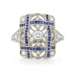 Kwiat Sapphire Vintage Ring