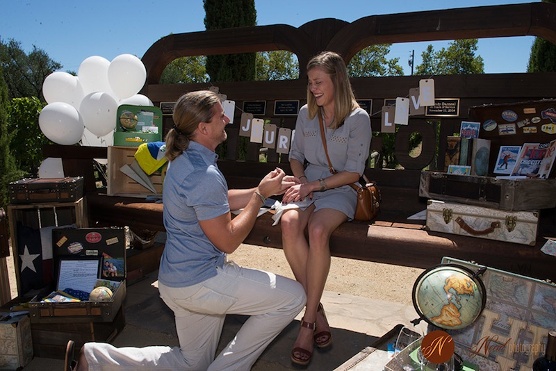 Napa marriage proposal the yes girls9