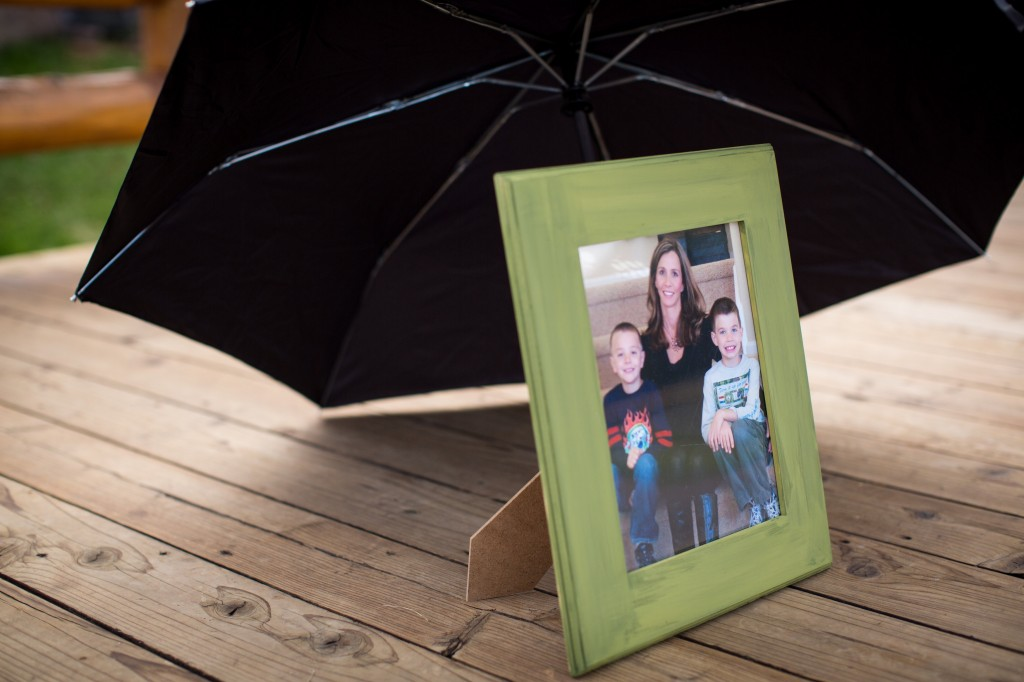 Evergreen Colorado Rain Theme Marriage Proposal by The Yes Girls Events