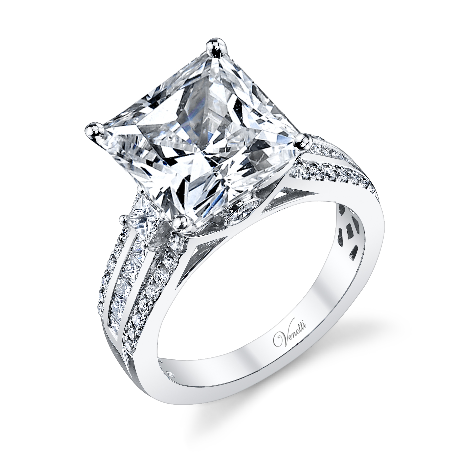 Oval Diamond Engagement Ring 14k W Ring 262rd 136ct