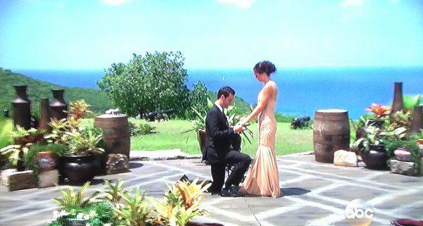 des and chris proposal the bachelorette