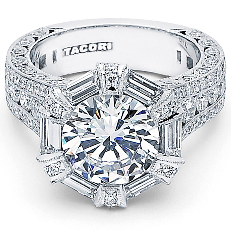 Are All Tacori Rings From Diamonds