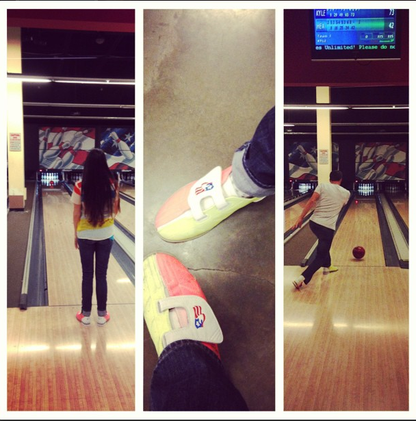 Date Night at the Bowling Alley