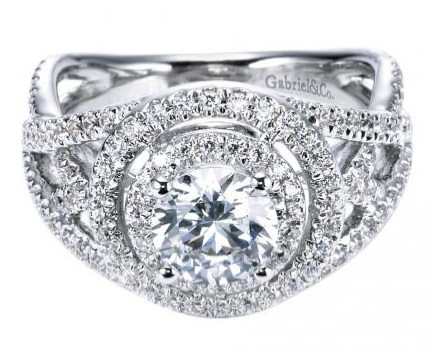 Gabriel & Co Engagement Ring