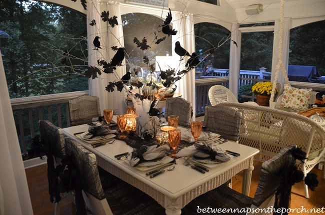 halloween table setting proposal ideas