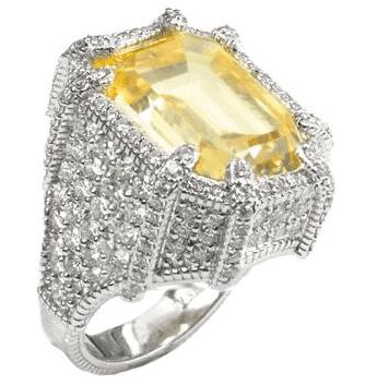 Judith Ripka Octagon Ring