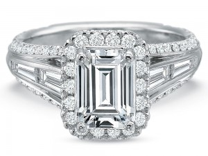 Precision Set Engagement Ring