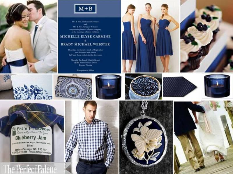 Blue Wedding Palette