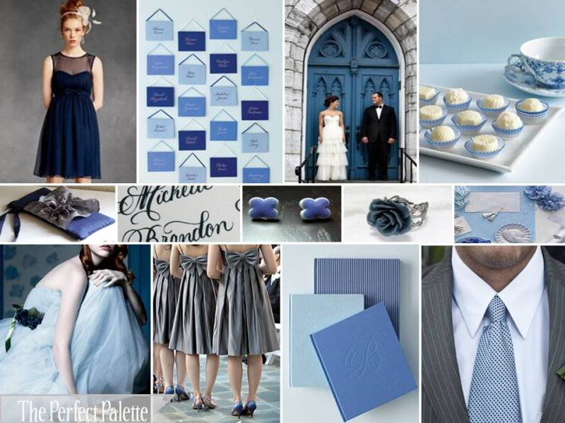 Blue Wedding Palette