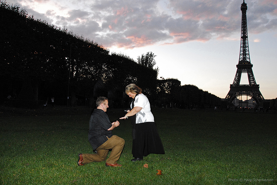 Romantic Marriage Proposal in Paris | The Yes Girls