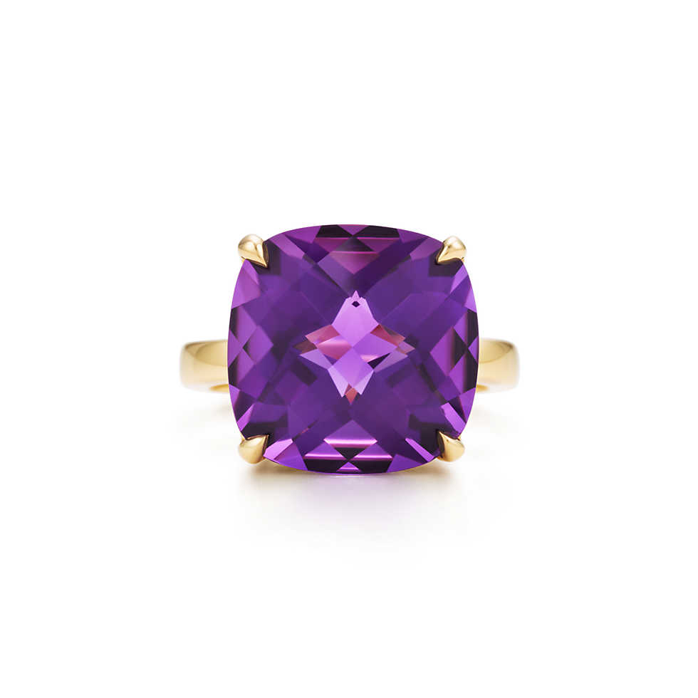 Tiffany Amethyst Cocktail Ring