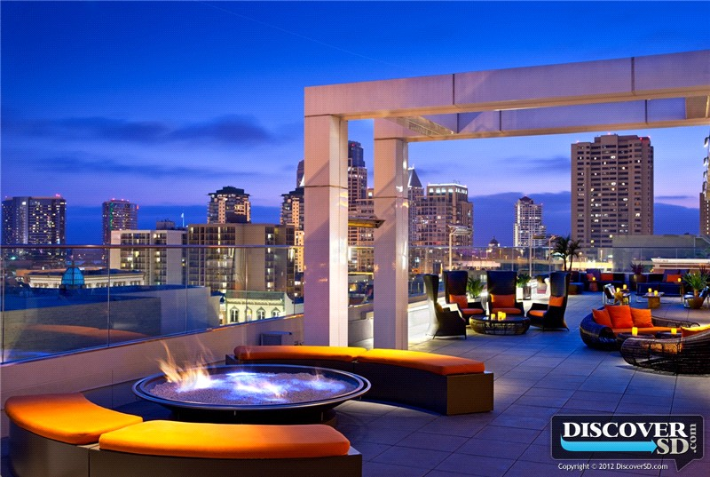san diego rooftop engagements