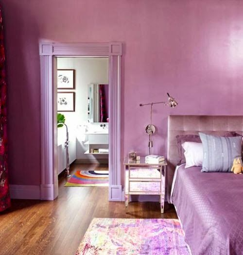 Radiant Orchid room