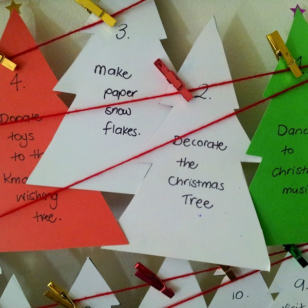 creative advent calendar