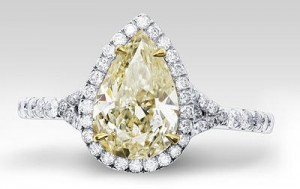 R and R Jewelers Canary Ring