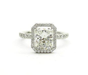 R and R Jewelers Radiant Cut Ring