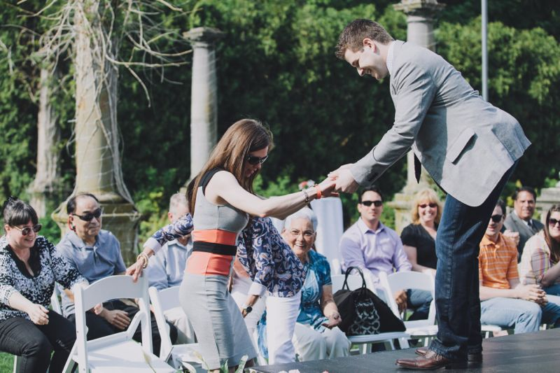 Fashion Show Marriage Proposal by The Yes Girls Events