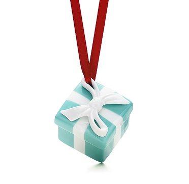 Tiffany's Box Christmas Ornament