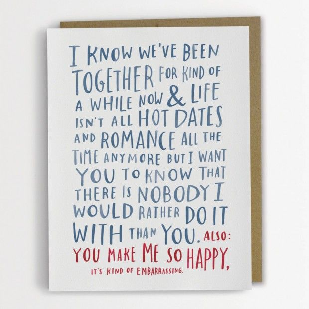 Awkward Funny Valentine's Day Card