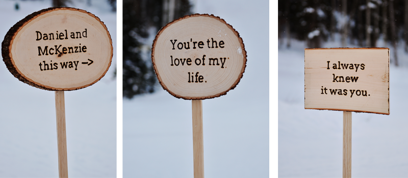 Custom Wooden Signs