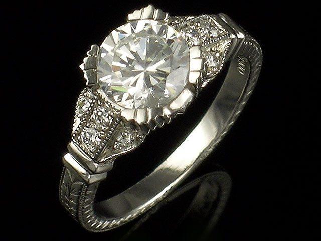 Janet Davidi Engagament Ring
