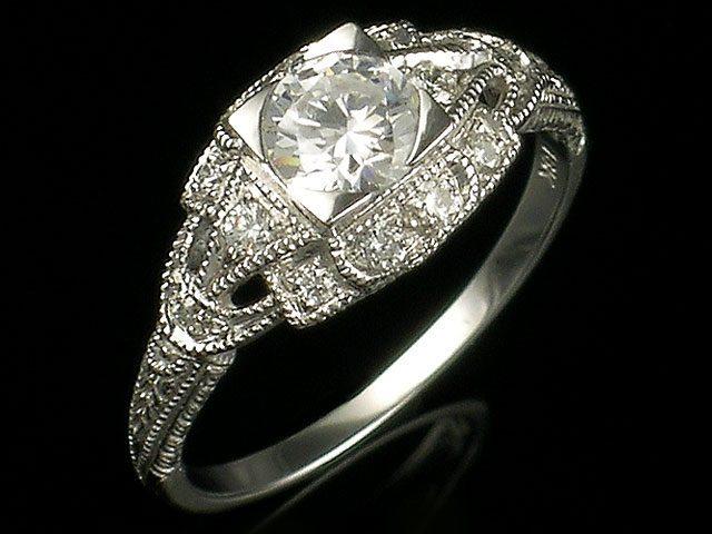 Janet Davidi Engagement Ring