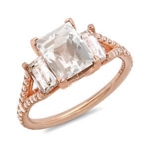 Tycoon Rose Gold Ring
